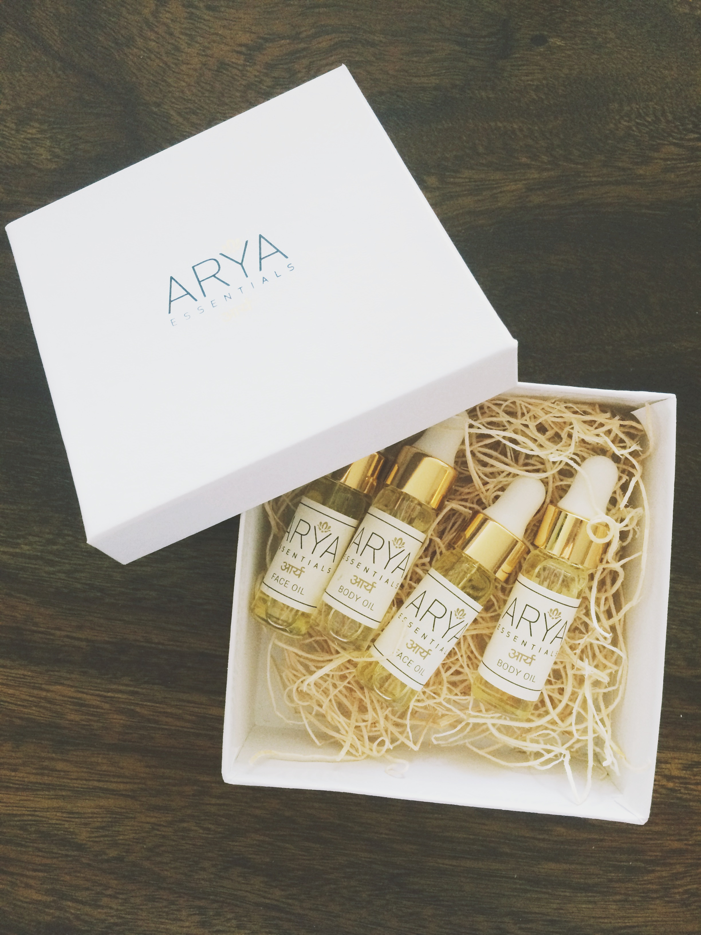 Arya Essentials Oils | The Organic Beauty