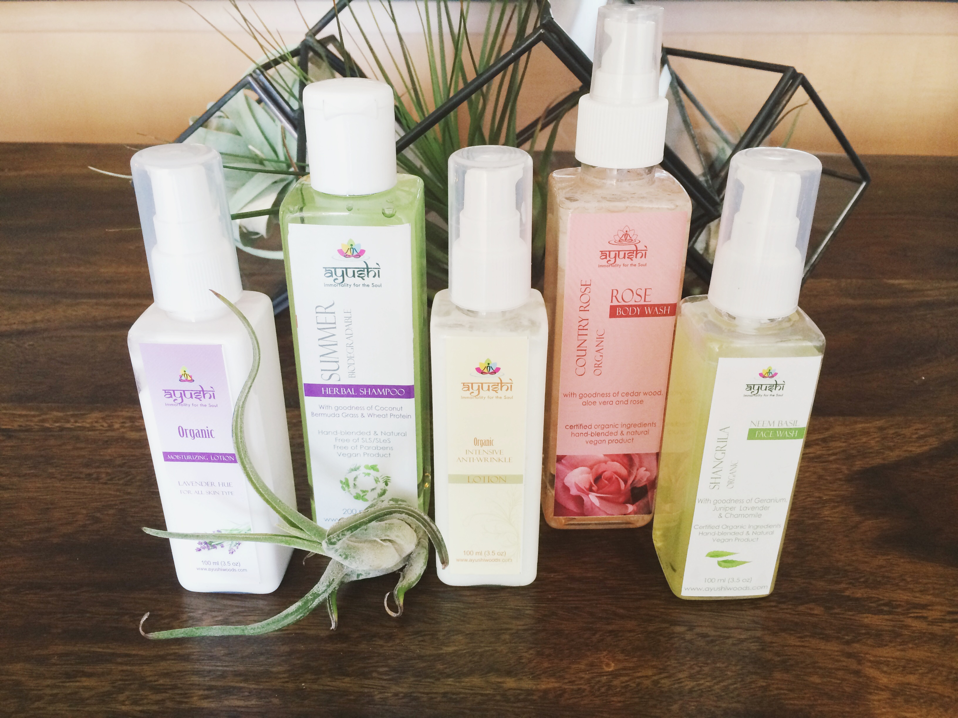 Ayushi Skincare on The Organic Beauty