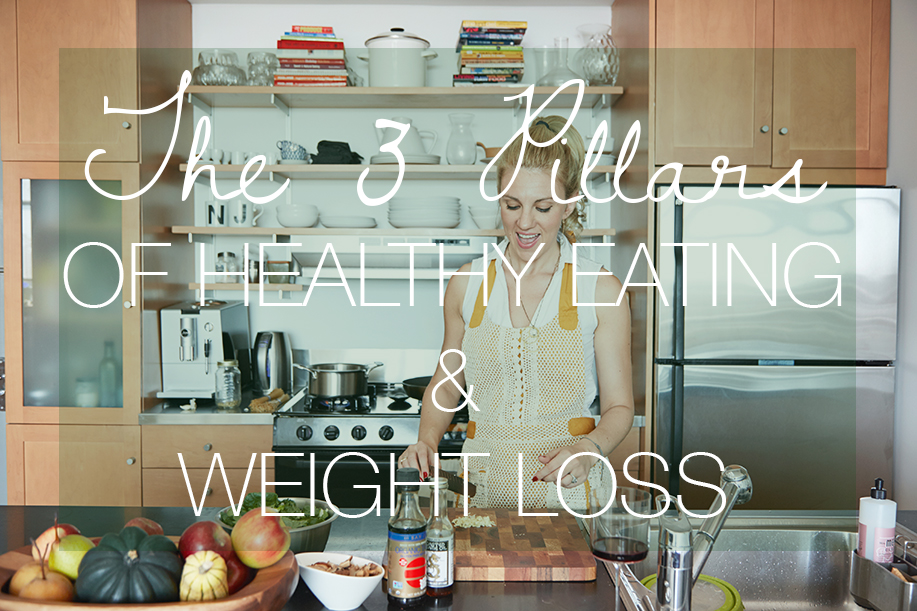 The 3 Pillars of Healthy Eating