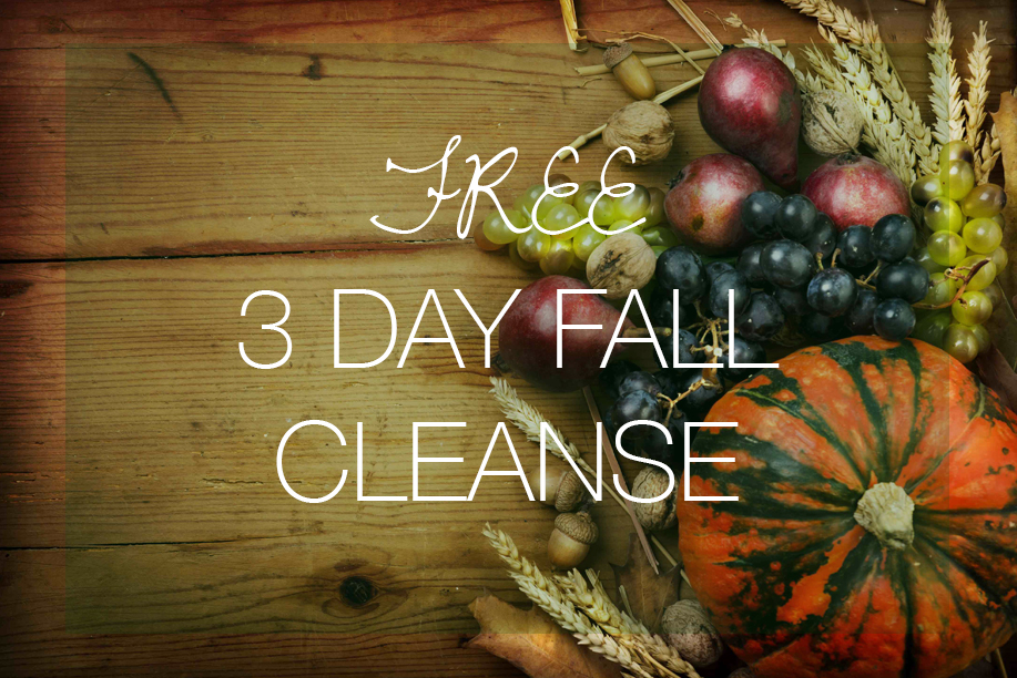Free 3-Day Fall Cleanse