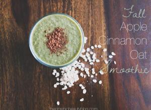 Organic-Beauty-Fall-Apple-Cinnamon-Smoothie
