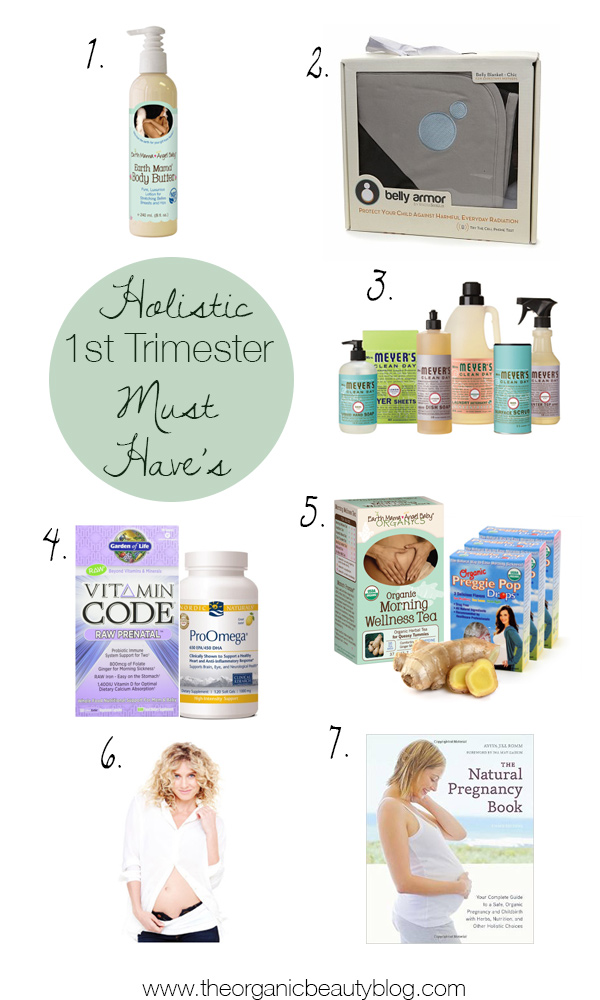 Holistic 1st Trimester Must Have's