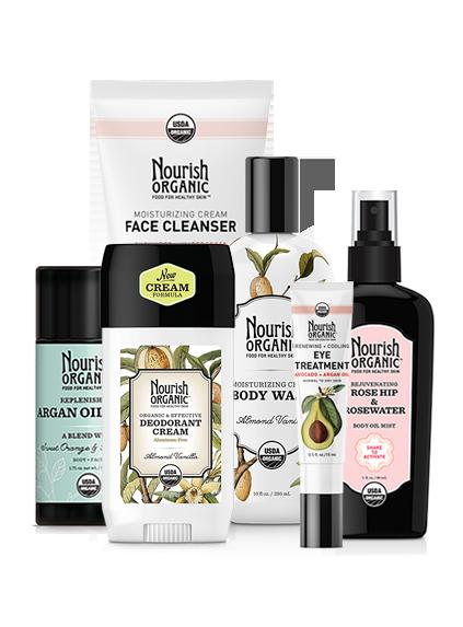 Nourish Organic Giveaway on The Organic Beauty