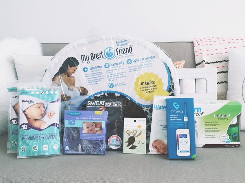 Natural New Baby Essentials Giveaway!