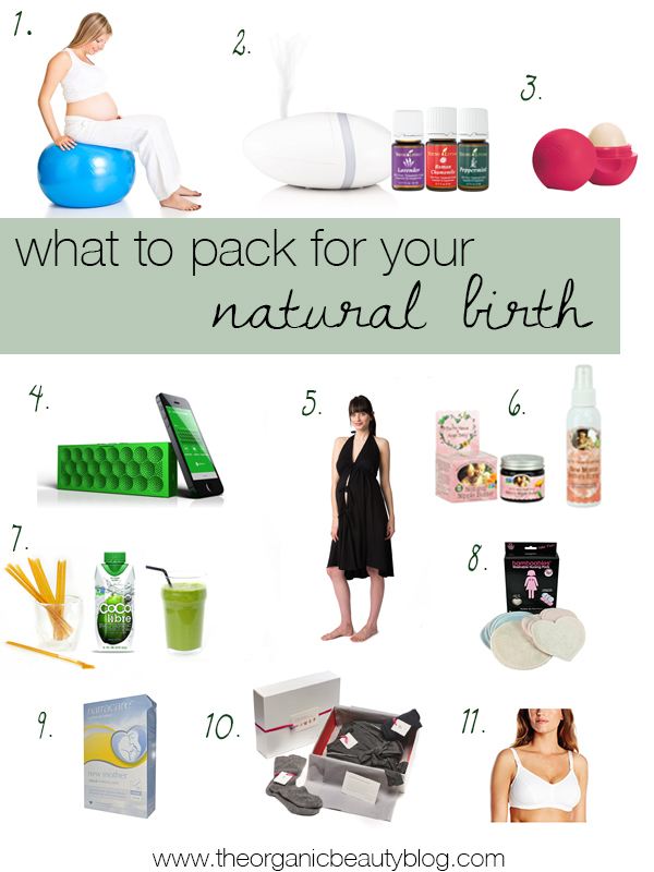 what-to-pack-for-natural-birth
