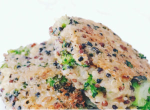 Broccoli Quinoa Patties | The Organic Beauty Blog